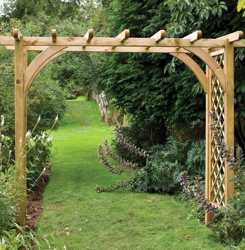 Single pergola arch