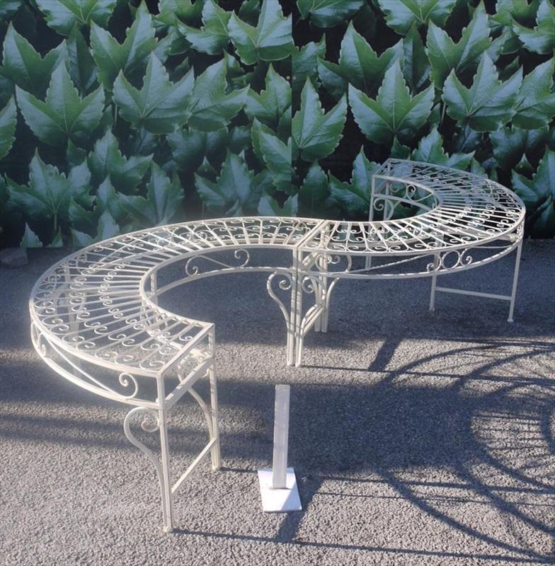 S Shape Garden Bench Seat The Garden Factory