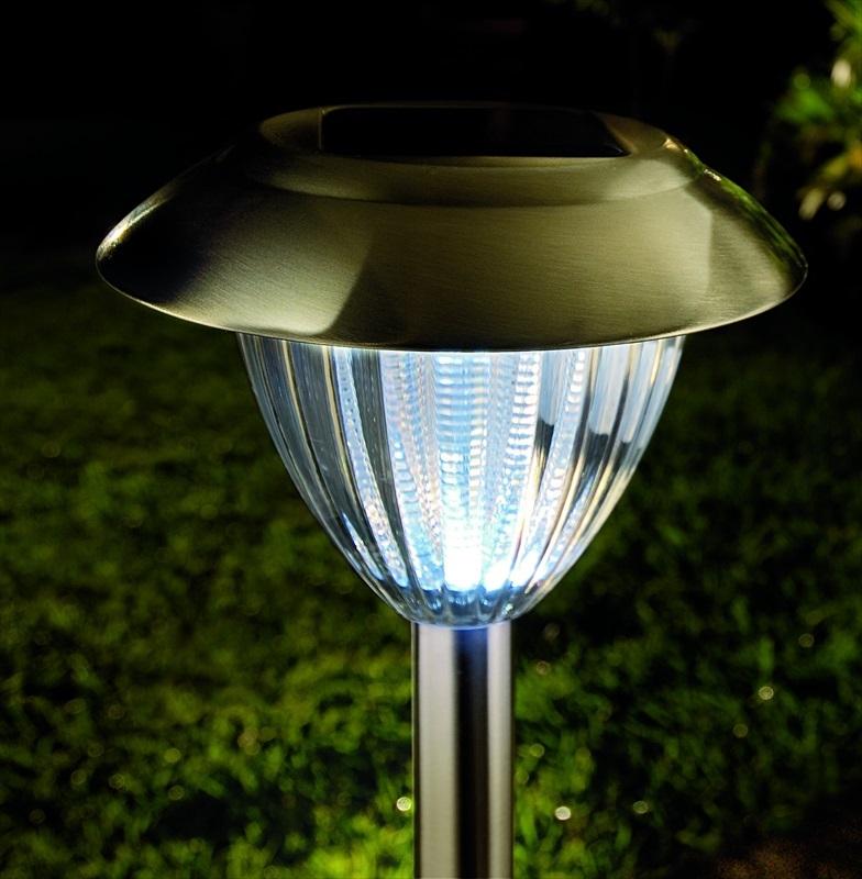 Solar Lights Extra Bright: Stainless Steel Solar Border Lights