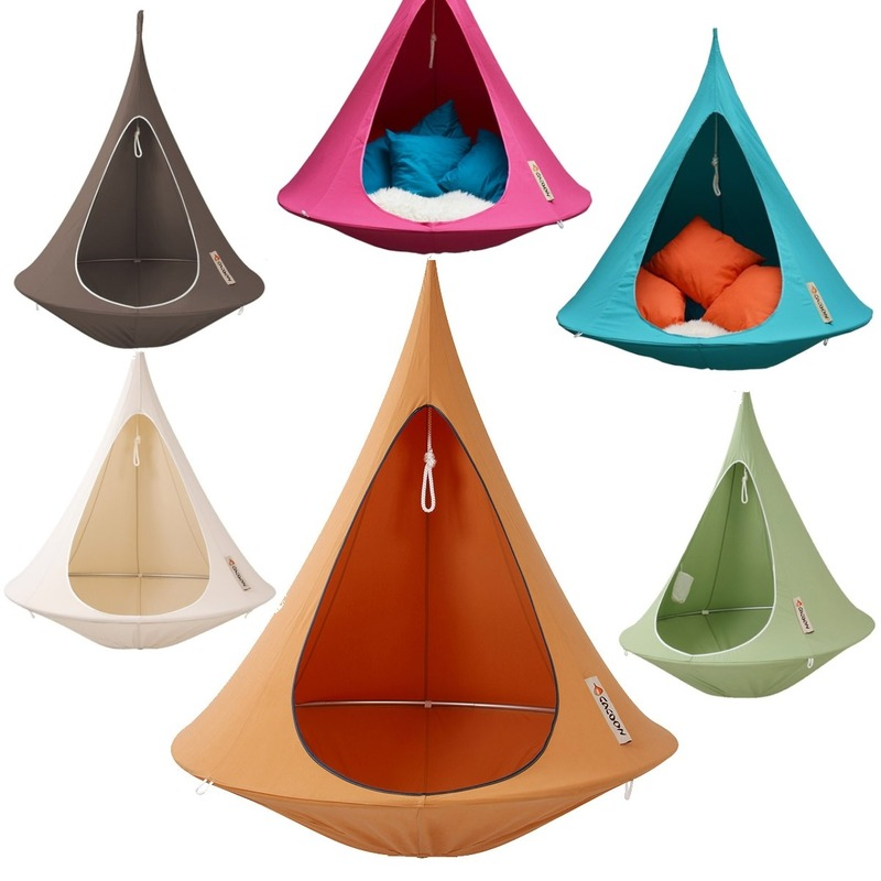 Cacoon Single Adult Hanging Tent Chair   Colour Options