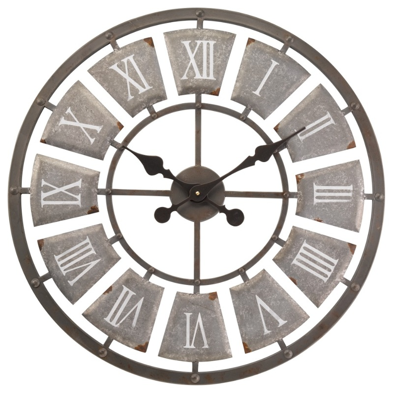 Superieur Lincoln Skeleton Garden Outside Wall Clock   Large 62cm   Indoor Or Outdoor  Clock