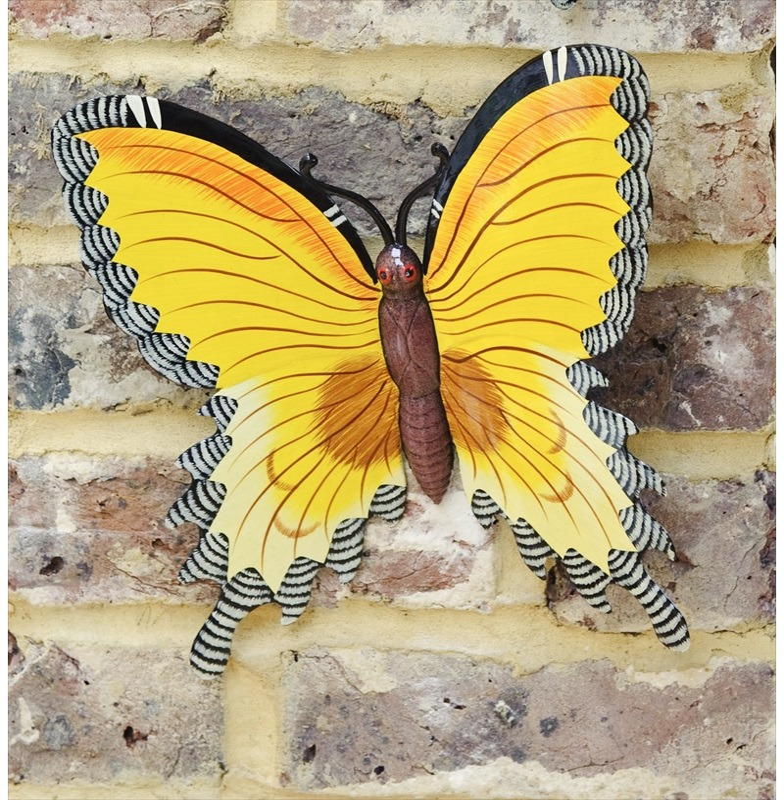 Wall Butterfly Garden Wall Art Large - Fountasia