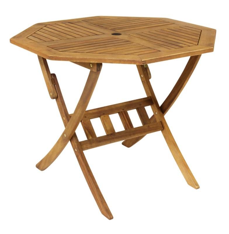 4 Seat Wooden Garden Furniture Set - The Garden Factory