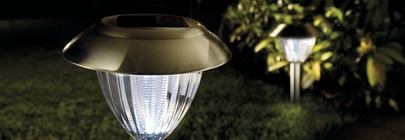 Solar Lights and Battery Lights