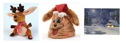 Animated Christmas Decorations