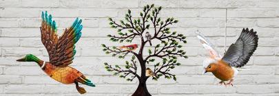Bird Wall Art & Ornaments
