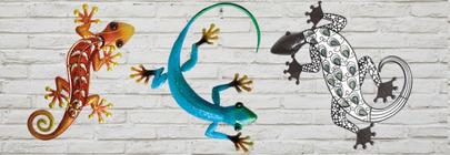 Gecko & Lizard Wall Art