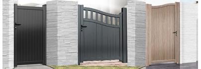 Aluminium Single Gates
