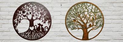 Tree & Wildlife Wall Art