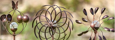 Wind Sculpture Spinners