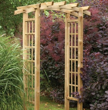 Ryeford Wooden Garden Arch by Forest Garden
