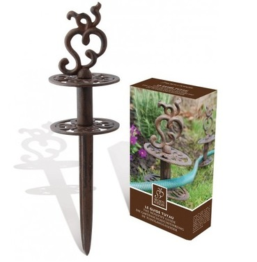 Cast Iron Garden Hoze Pipe Guide