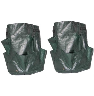 Herb Planting Bag Planters x 2 Reusable