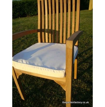Garden Large Armchair Cushion - Natural