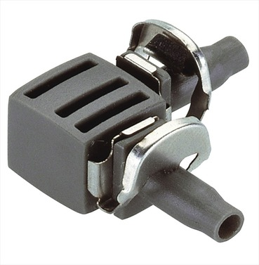 Elbow Joint Connector (pack 10) - Gardena 4.6mm Micro Irrigation Fitting