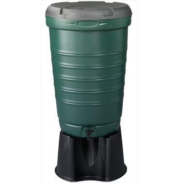 Water Butt Rainsaver Kit 190lt (incl STAND, DIVERTER, TAP & LID)