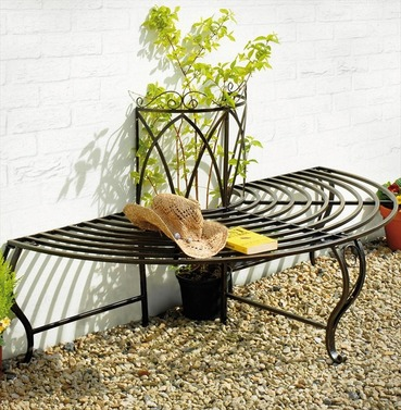 Chelsea Half Metal Tree Bench Seat D/L
