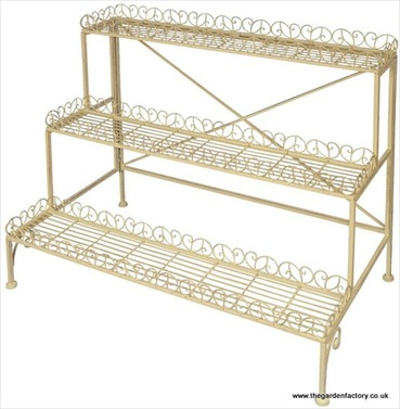 Large Old Rectory Etagere Plant Stand