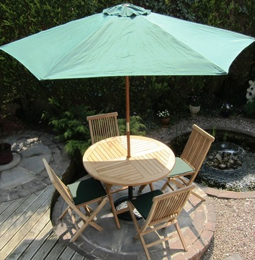 Hollywood Dressed Set by Rondeau - Incl. Parasol, Pads & Base