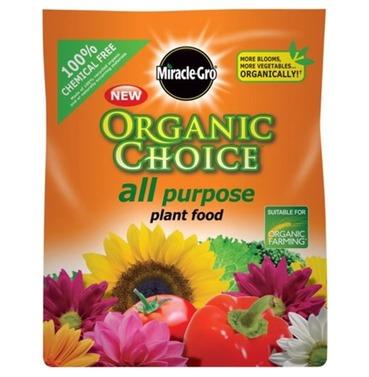 Miracle-Gro Organic Choice All Purpose Plant Food