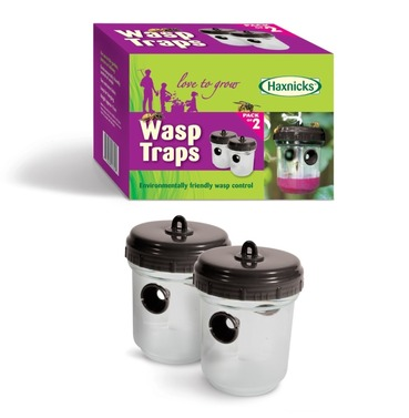 Four Wasp Traps - (2 x twin packs)