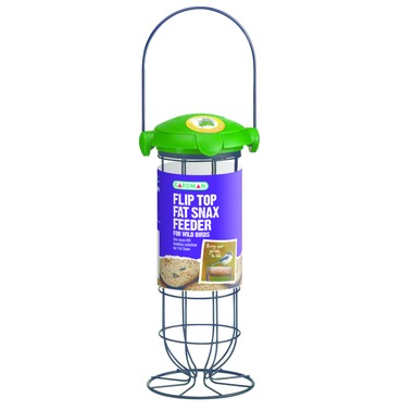 Fat Snax Suet Flip Top Bird Feeder