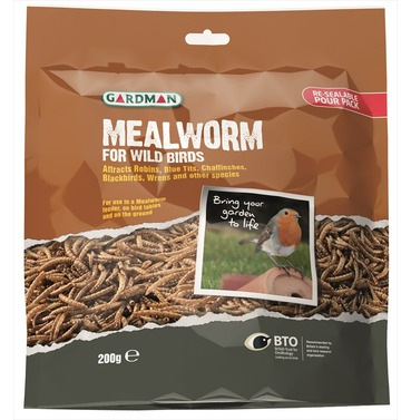 Mealworm Pouch - from Gardman