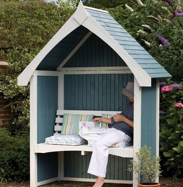 Limoge Arbour Seat by Forest Garden
