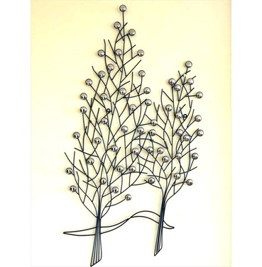 Garden Wall Art - Fastigate Tree