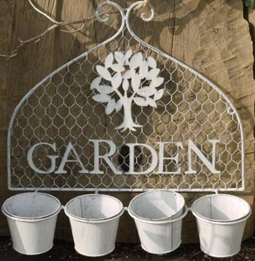 Garden Wall Pot Holder