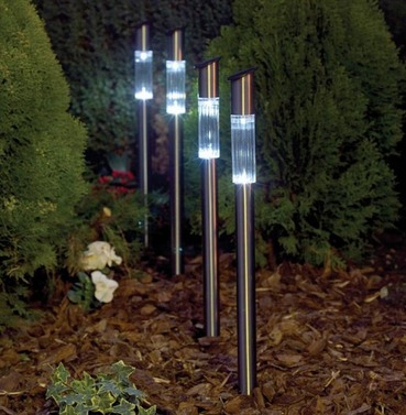 Solar Post Light - Four Pack