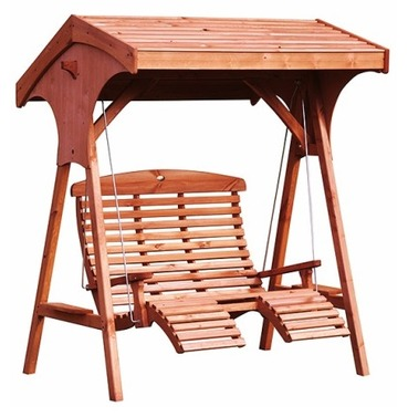 Roofed Comfort Swing Seat by AFK