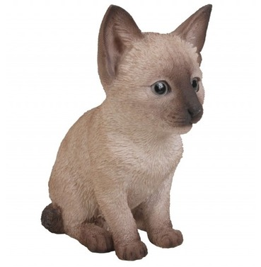 Siamese Kitten Baby Cat Pet Pal Garden Ornament