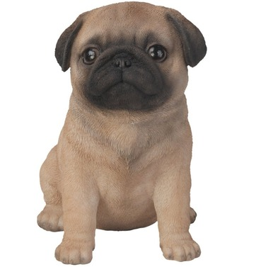 Pug Puppy Baby Dog Pet Pal Garden Ornament