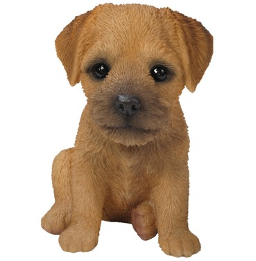 Border Terrier Puppy Baby Dog Pet Pal Garden Ornament