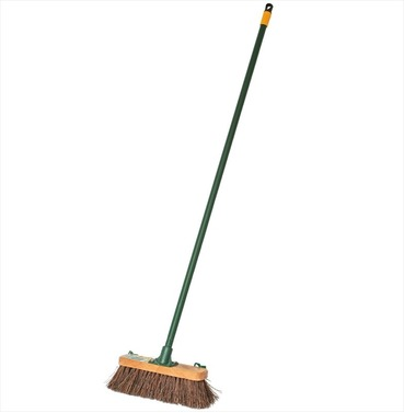 "Stiff Brush 11"" Garden Broom"