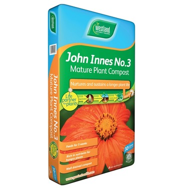John Innes No 3 Compost for Mature Plants  - 10L Bag