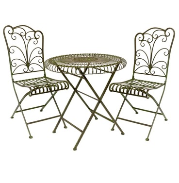 Lucton Tea for Two Garden Furniture Bistro Set - Lucton Range