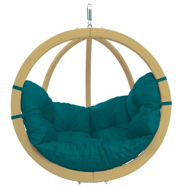 Globo Single Pod Chair Only - Green - Amazonas Hammock