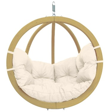 Globo Single Pod Chair Only - Natural - Amazonas Hammock