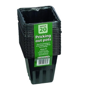 Pricking Out Pots - Plug Plant, Seedling & Cutting Pot - 20 Pack