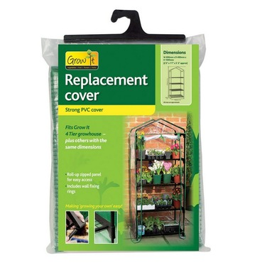 Replacement 4 Teir Greenhouse Cover - PVC Cover