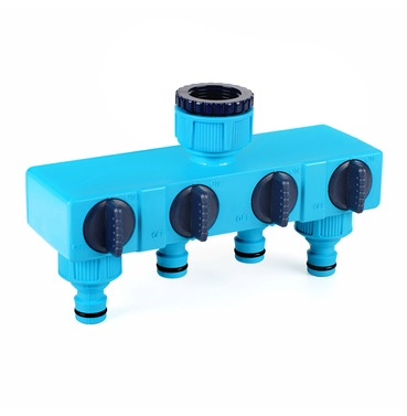 Flopro Four Way Hose Pipe Tap Connector