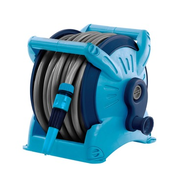 Flopro Compact Hose Reel - Includes Fittings - Easy Storage and Carrying