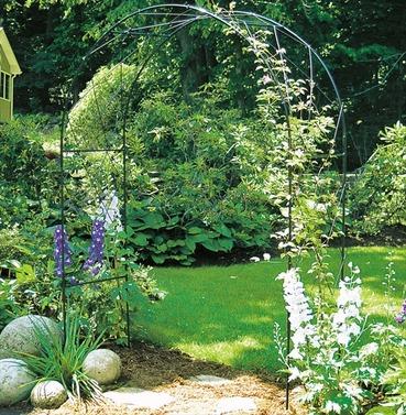 Oregon Garden Rose Arch - Poppy Forge - 13mm Solid Bar Construction
