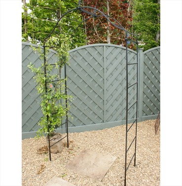 Arcadia Garden Rose Arch - Poppy Forge - 12mm x 10mm Solid Bar Construction