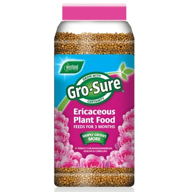 Gro Sure Ericaceous Plant Food 900g - Slow Release Fertilizer Feed