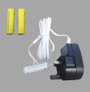 Battery Eliminator - Replaces 3 x AAA Batteries in to a Mains Plug - 3m Length