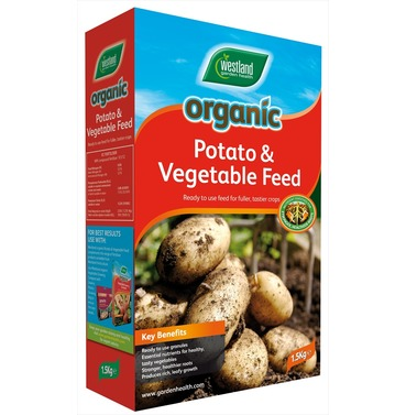 Organic Potato & Vegetable Food Feed 1.5kg - Westlands Garden Health