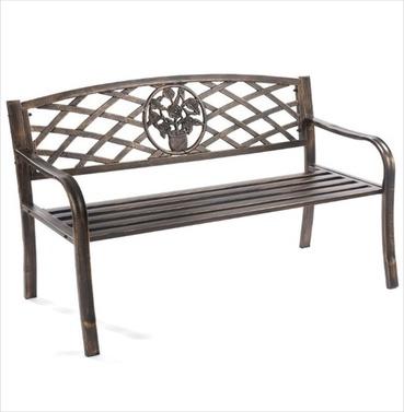 Coalbrookdale Ornamental Garden Bench